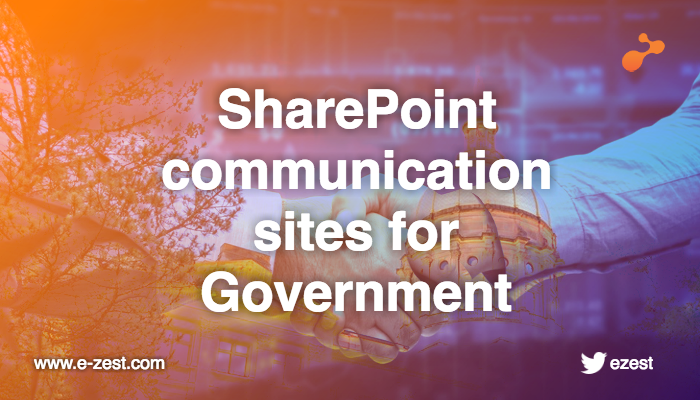 SharePoint communication sites: Considerations for government organizations