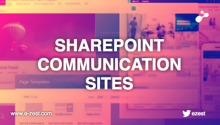 Points to remember before you start working with SharePoint Communication Sites