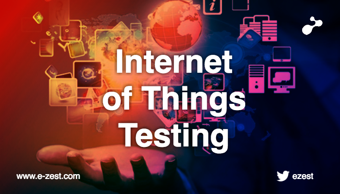 For IOT testing - you need to cook your own recipe!