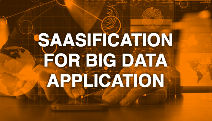 SaaSification for Big Data application