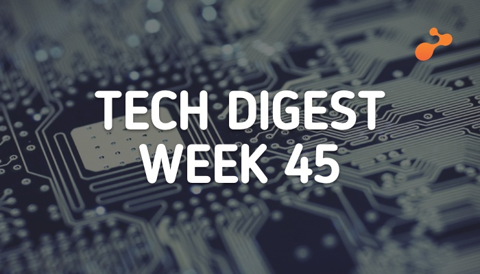 Technology stories that are worth - Week 45, 2017
