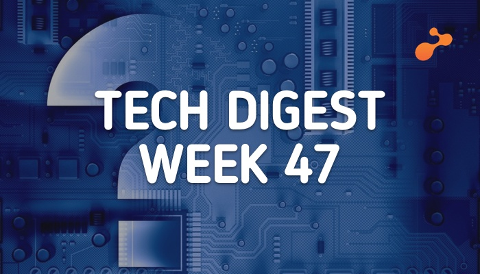 Technology Stories you cannot miss - Week 47, 2017