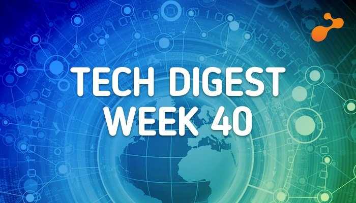 Technology stories that are worth - Week 40, 2017