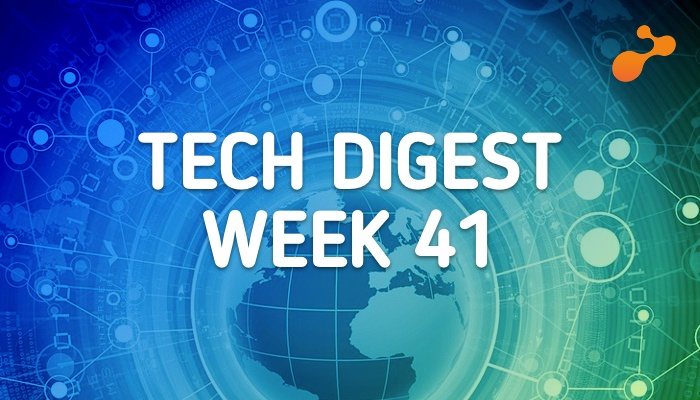 Technology stories that are worth - Week 41, 2017