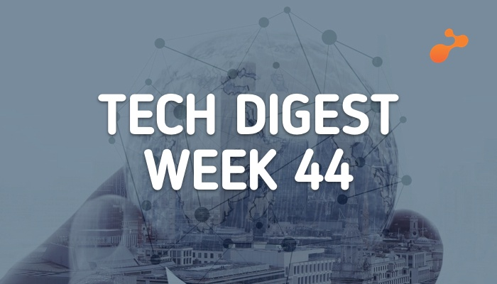 Technology stories that are worth - Week 44, 2017