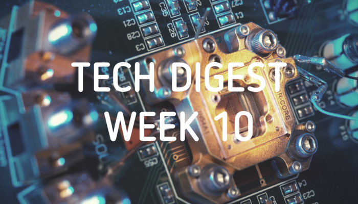 Tech stories handpicked for you - Week 10, 2017