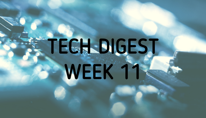 Technology news from around the globe - Week 11 2017
