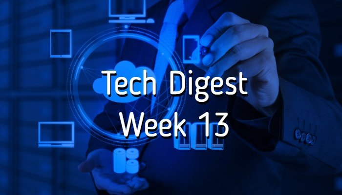 Tech stories handpicked for you - Week 13, 2017