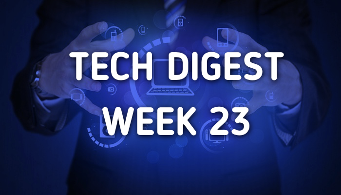 Tech stories handpicked for you - Week 23, 2017