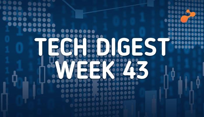 Technology stories- Week 43, 2018