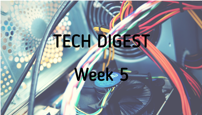 Technology news from around the globe - Week 5 2017
